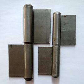 厂家直销铁质旗型焊接脱卸合页 铁本色合页