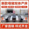 雙體母豬產牀 熱鍍鋅母豬分娩牀 臨河母豬產牀保育牀