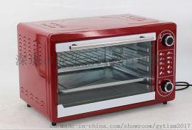 厂家批发家用烘焙电烤箱 多功能电烧烤箱一件代发