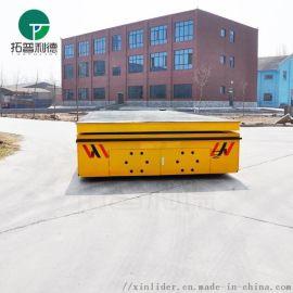 无轨胶轮车遥控器不损坏地面平板车制造厂家