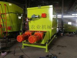 翔航农业机械供应卧式双轴饲料搅拌机