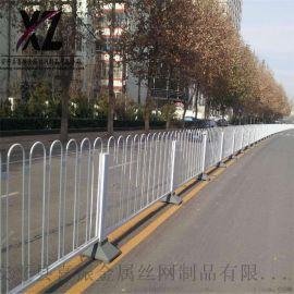 牢固道路护栏 交通防撞道路护栏 市政道路护栏现货