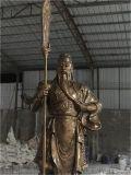 佛山玻璃钢人物雕塑 仿铜人物雕塑工艺制作