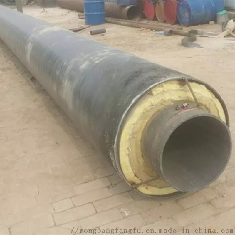 双鸭山钢套钢直埋蒸汽保温管,直埋温泉保温管