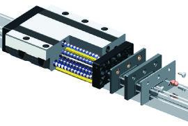 数控机床专用导轨、重载滚动直线导轨副、导轨副