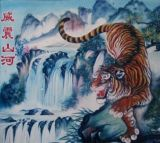 河南郑州最好墙体彩绘/手绘墙画公司