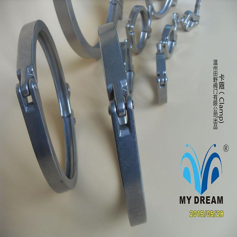 304不锈钢重型精铸卡箍 DN10至DN500 批发供应