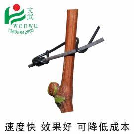 文武包裝 葡萄扎絲圓型 綁扎線園林扎絲通信光纜電纜扎帶鐵芯捆線