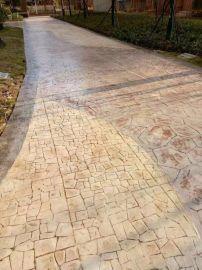 桓石 水泥压印地坪 压花混凝土地坪装饰,水泥压花地坪技术