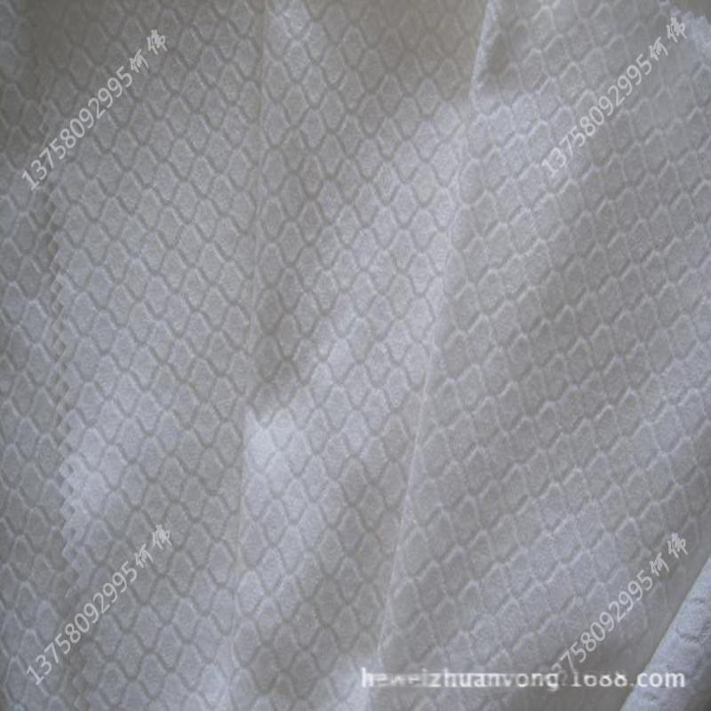 廠家產地貨源_新價多規格網型和克重抗菌型竹纖維提花水刺無紡布