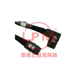 苏州汇成元电子供应 SFF-8087 系列Mini SAS 2.0 4i 6Gbps  左镰刀式 线缆组件