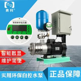无塔供水器 不锈钢无塔供水器 家用变频加压供水设备