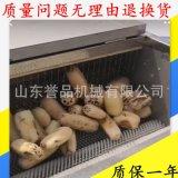 諸城銷售根莖類蔬菜毛輥清洗機 芋頭清洗機 花蛤蓮藕去皮泥清洗機