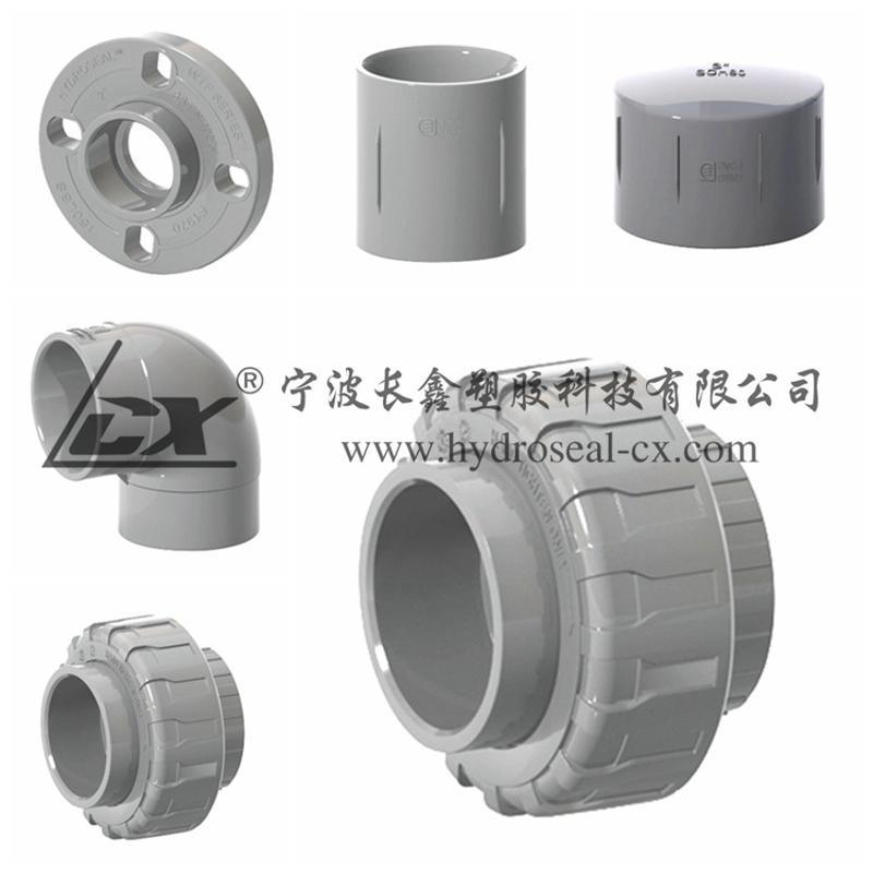 CPVC管件,CPVC化工管件,CPVC配件,PVC-C管件,弯头三通直接