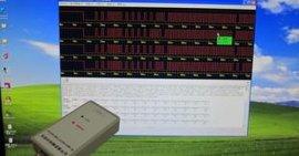 红外遥控器测试仪解码分析仪批量测试读码