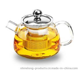 600ml 耐热玻璃茶壶 手工吹制泡茶壶 款式可定制内热水壶