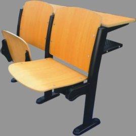 环保**学生阶梯教室连排椅 多层板校用连排椅