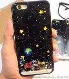 爆款新品 时尚简约黑色星空iPhone手机壳 厂家直销 可代理加盟