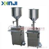 工厂直销日化洗涤剂灌装设备, 小型膏体半自动灌装机