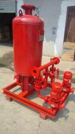 武汉泉尔气压给水成套设备立式消防增压稳压设备 消防气压罐容积450L