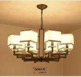 现代简约客厅新中式吊灯仿古铁艺中式灯具创意复古卧室餐厅灯饰