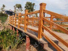 四川力达高清质混凝土组合仿木栏杆