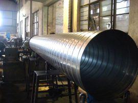 厂家独特工艺生产螺旋风管,镀锌材质产品气密性高、耐腐蚀