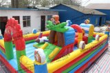 世德興供應兒童充氣城堡定製兒童愛玩的熊出沒充氣城堡
