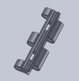 供应制药机链条精铸模具