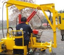 四川路神供应230型号公路护栏打桩机