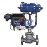 进口定位器气动不锈钢法兰薄膜笼式单座调节阀ZXGV DN15 20 25