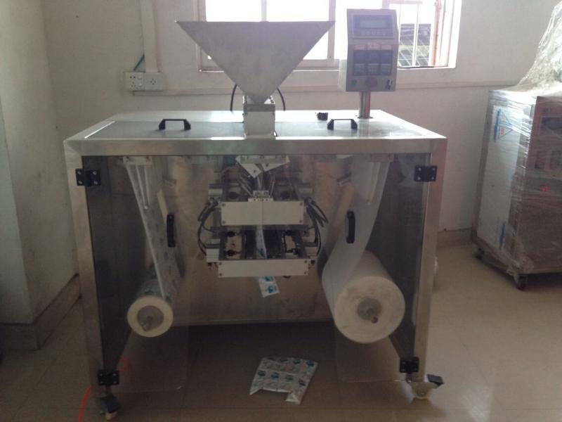 厂家直销粉剂双膜粉剂粉末包装机螺杆下料四边封双膜包装机械设备