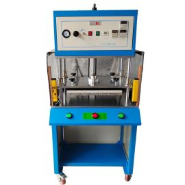 厂家生产供应热熔机 上发热式安全光栅带防护网热熔机械