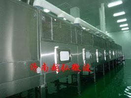 山东济南隧道式工业微波设备,微波烘干机