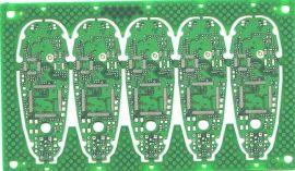 六层蓝牙耳机阻抗电子线路板PCB