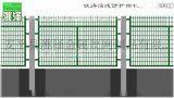 洮泽高速铁路桥下防护栅栏通县8001、8002厂家定制、专业安装