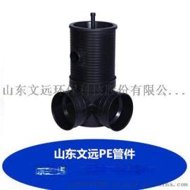 鞍山塑料检查井供应/抚顺中空壁缠绕井筒大量批发