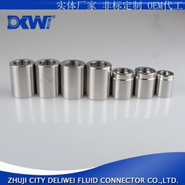 铁 龙套筒不锈钢四 管套皮耐高压防腐蚀加厚镀锌表面光滑全数控加工精密