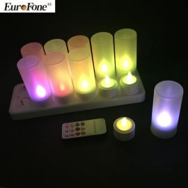 仿真led蜡烛灯浪漫情人节精美表白装饰用品环保可充电茶烛