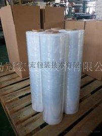 济南缠绕拉伸膜 PE环保包装膜 净重5公斤打包膜厂家批发