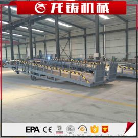 厂家现货供应DCQY-10T移动式登车桥手动液压式装卸台货柜装卸平台