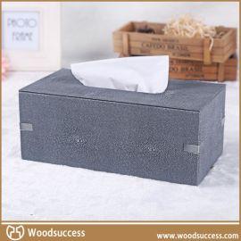 热销可定制MDF抽纸盒