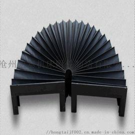生产加工风琴式防护罩圆形防护罩耐油耐磨质量好
