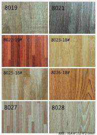 廠家佛山直銷出口木紋PVC石塑地板 防水耐磨專賣店辦公展廳商鋪塑膠地板