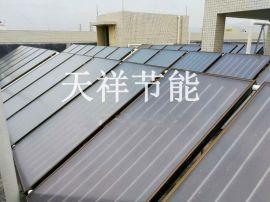 厂家太阳能热水工程安装