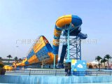 供應大型水上樂園設備大喇叭滑梯