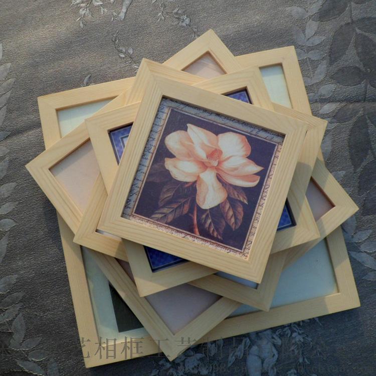 定製批發實木正方形相框 8寸10.12.16.20.24寸可加LOGO 裝裱畫框