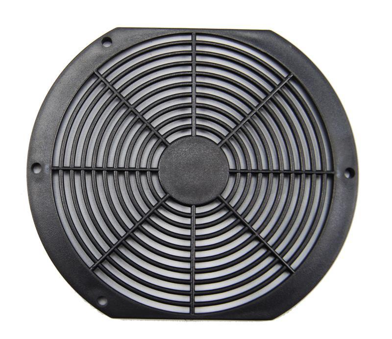 厂家直销散热风扇塑胶防护防尘网罩