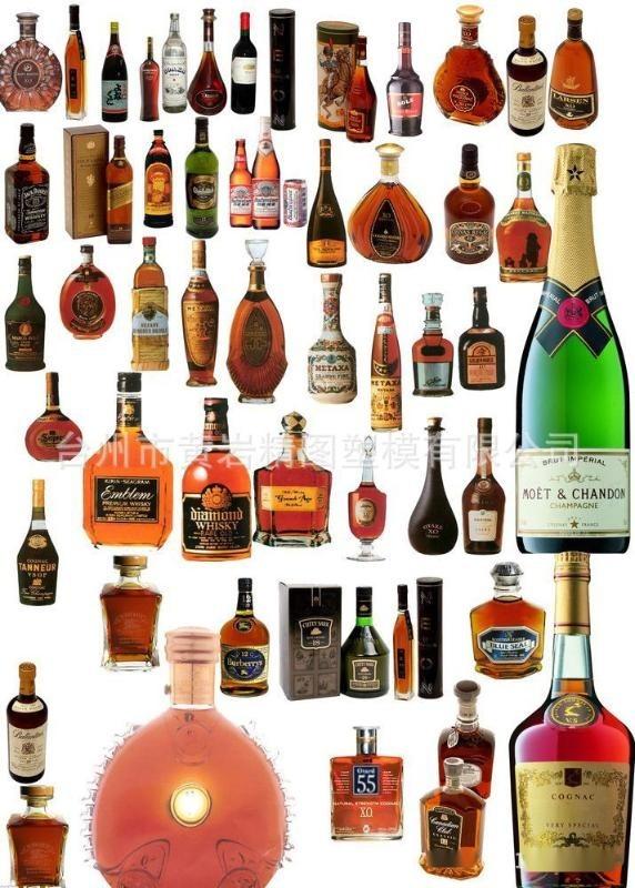 PET啤酒瓶 PC红酒瓶 PP洋酒瓶