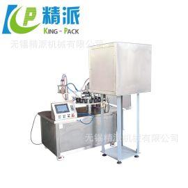 胶水塑料瓶灌装旋盖机  全自动AB胶水灌装旋盖机  液体自动灌装机